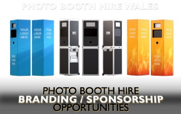 Photobooth Hire in Wales - add your branding!