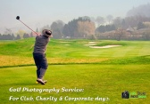 Corporate golf day photography Wales